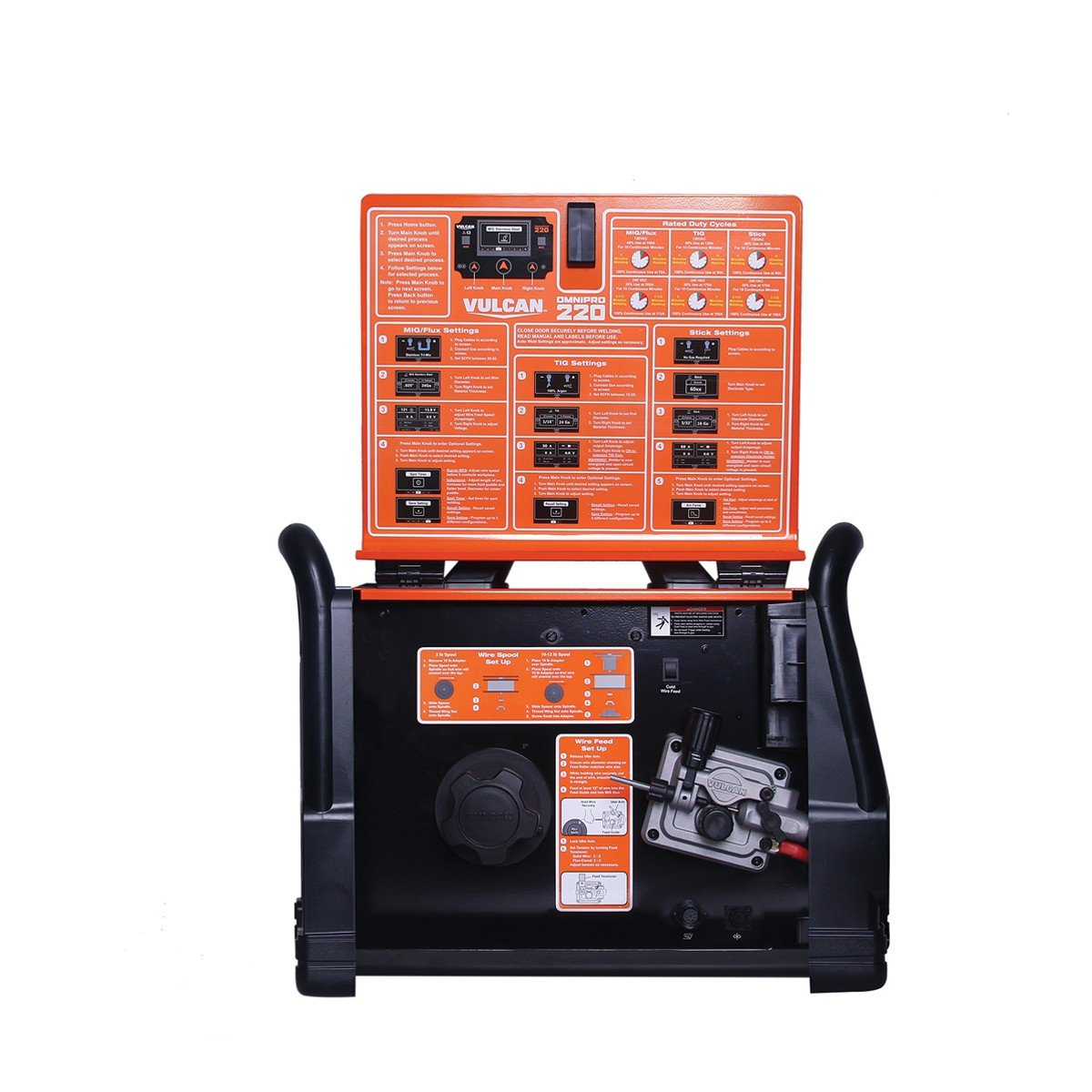 Vulcan OmniPro 220 Multiprocess Welder with 120/240 Volt Input by Vulcan (Image #8)