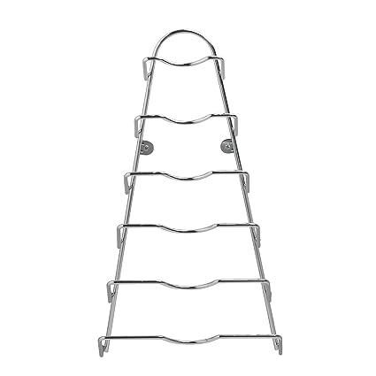 Weis 2602 - Soporte para tapas (cromado, 42 x 23 cm)