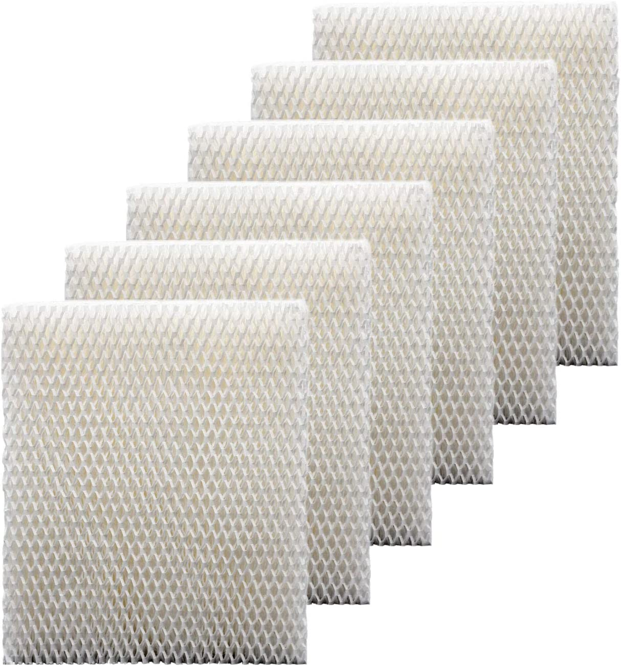 Colorfullife 6 Pack Humidifier Wicking Filter T for Honeywell Top Fill Tower Humidifier HEV615, HEV620, Replacement Filter T, Replace Part HFT600T HFT600PDQ