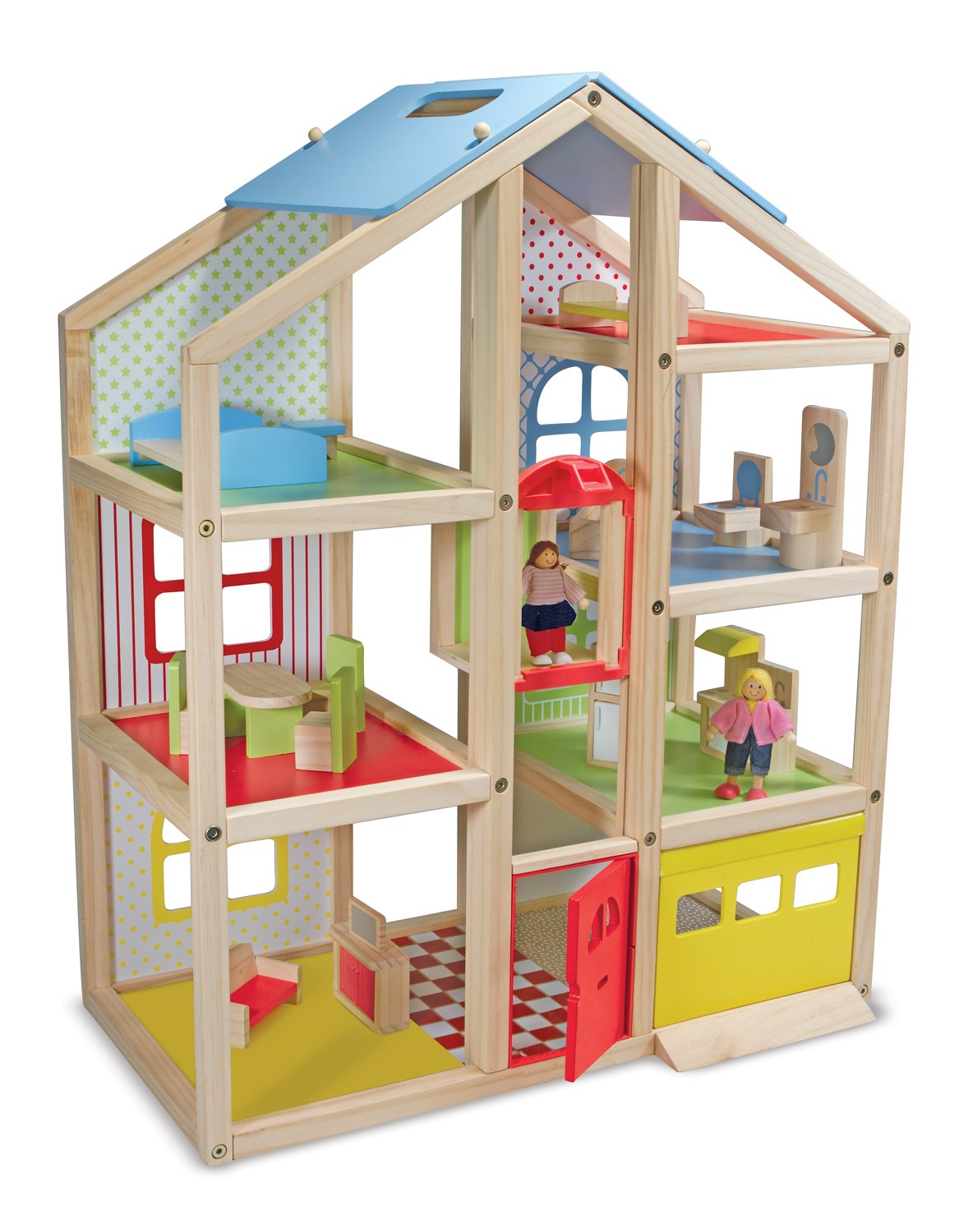 Melissa and Doug Hi Rise Dollhouse