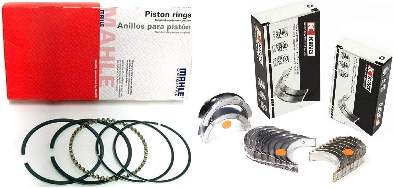"""SBC Chevy 350 Small Block Re-Ring KIT 4.000/"""" Rings Bearings /& Gaskets Seals STD"""