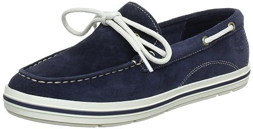Timberland EK CASCOBAY Boat, Mocasines para Mujer: Amazon.es: Zapatos y complementos