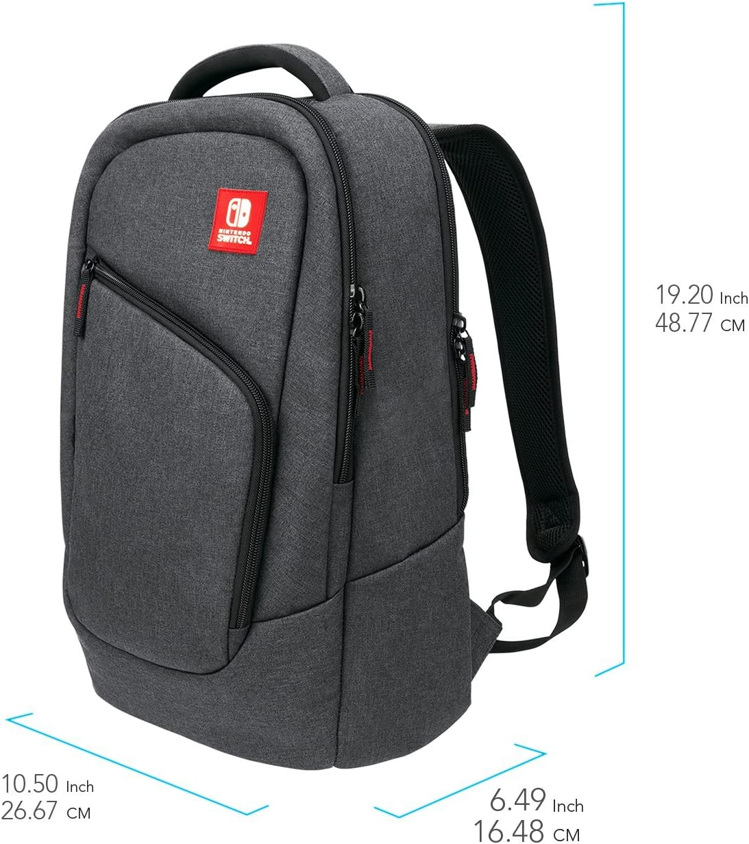 89c873e369 Amazon.com  Nintendo Switch Elite Player Backpack by PDP  Video Games