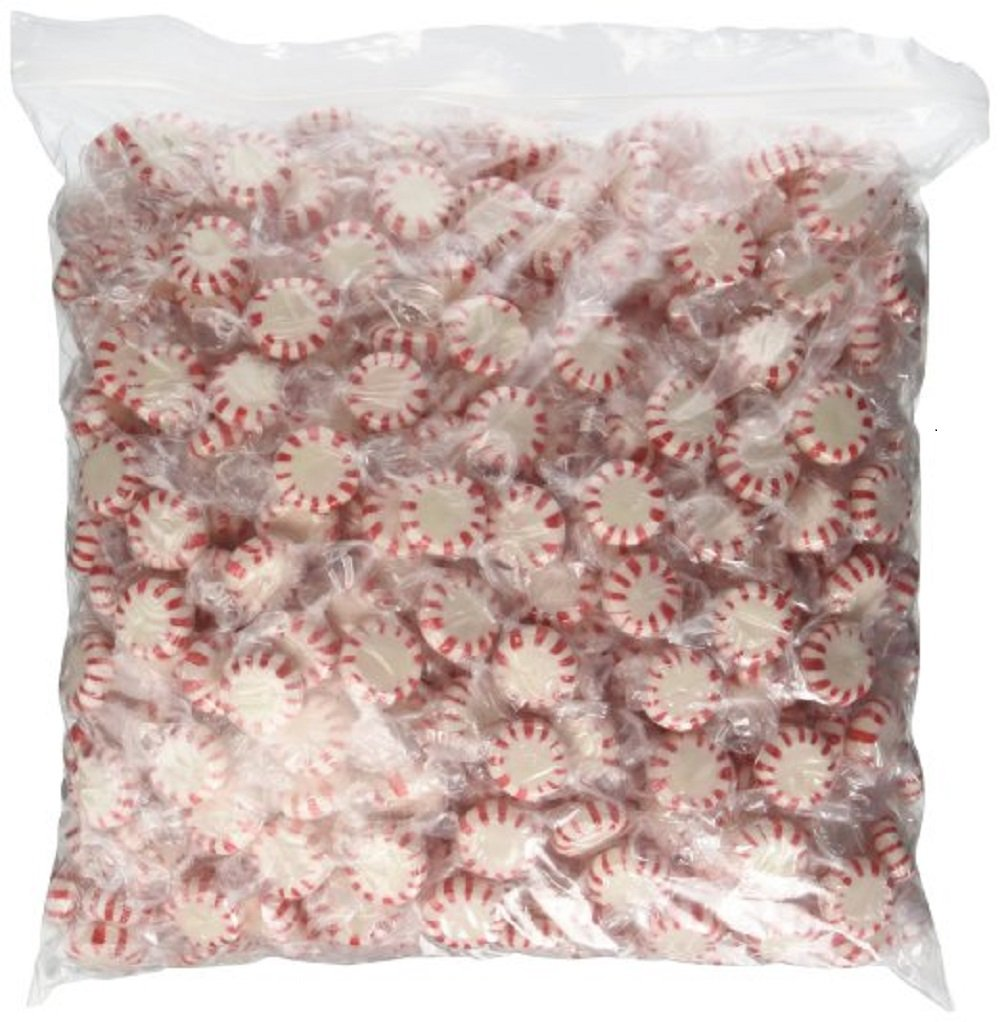 Sugar Free Starlite Mints Peppermint (5 lb Bulk Bag)