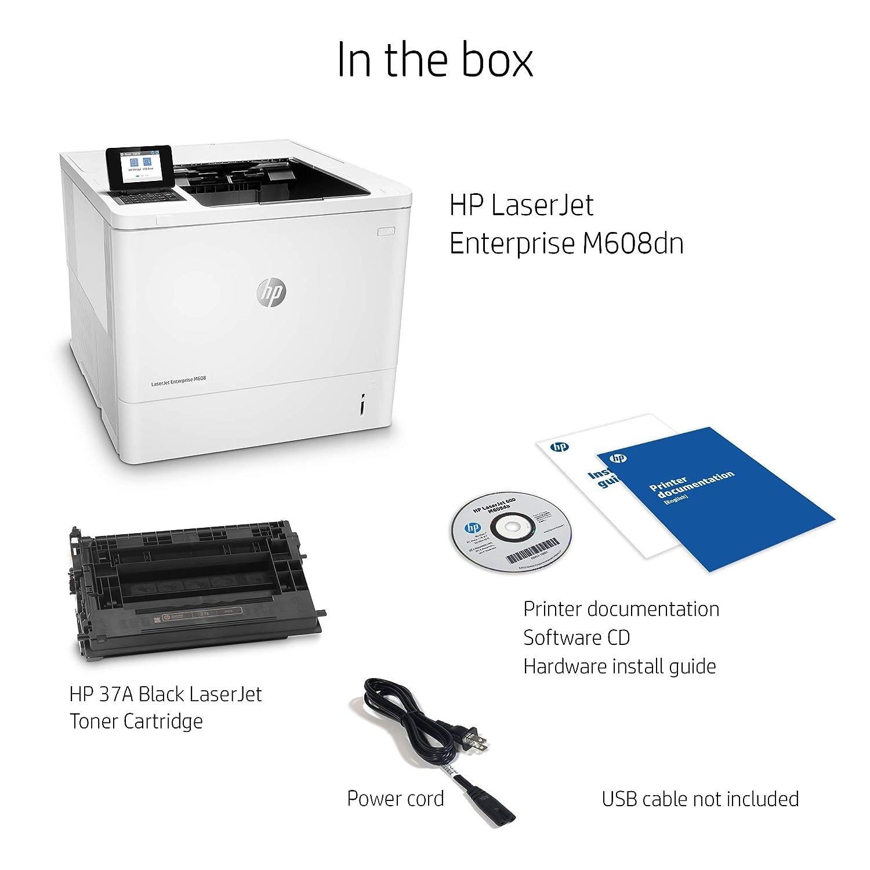 HP Laserjet Enterprise M608dn Duplex Printer with One-Year, Next-Business  Day, Onsite Warranty (K0Q18A)