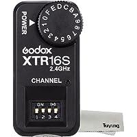 Godox XTR-16S 2.4G 無線 受信機 X-システム リモコンフラッシュレシーバ VING V860II V850II V860 V850用 (XTR-16S)