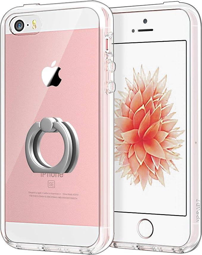 JETech Cover per iPhone SE, iPhone 5s e iPhone 5, Trasparente ...