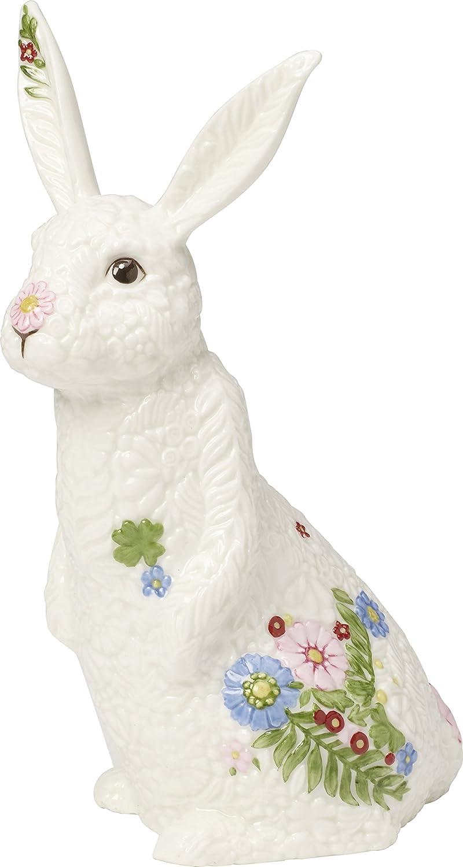 Villeroy & Boch Spring Fantasy Hase Klein, Porzellan, 20 x 16,5 x 20 cm, weiß 14-8644-6477