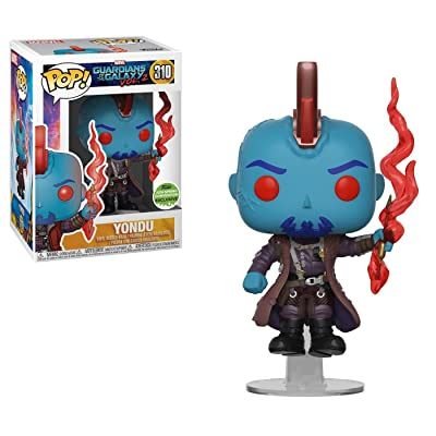 Funko Pop! Marvel #310 Guardians of The Galaxy Vol. 2 Yondu with Arrow (2020 Spring Convention Exclusive): Toys & Games