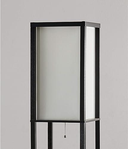 Modern Shelf Floor Lamp 72″