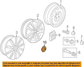 Amazon.com: Volkswagen 3B7-601-171-XRW Tapa central: Automotive