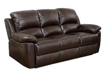 Abbyson Westwood Top Grain Leather Sofa