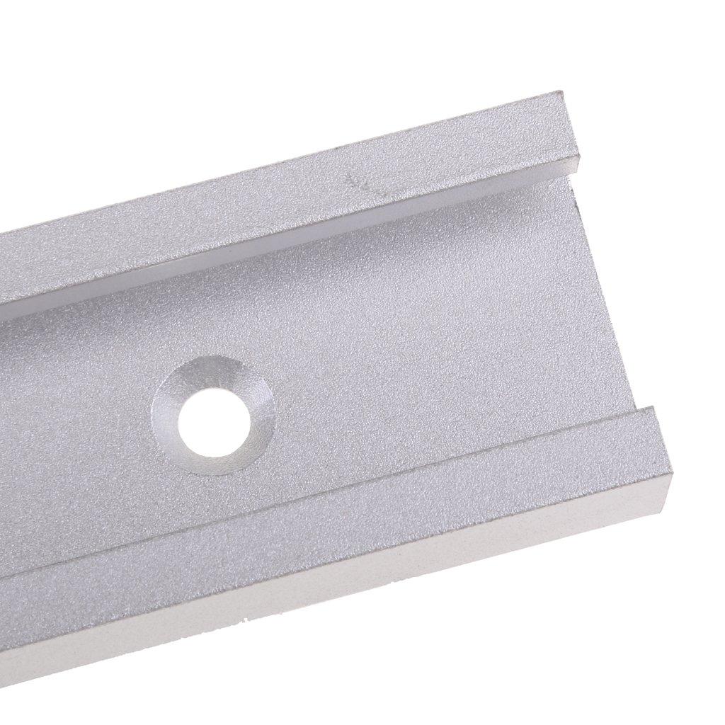 Outil Dalliage Pour Le Travail Du Bois En Aluminium Avec Rail /à Onglet En T De 600 Mm