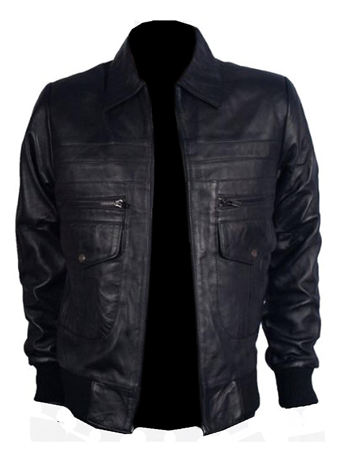 Bomber leather jacket, DAILY BOMBER, colours available, Orignal sheep Napa leather used