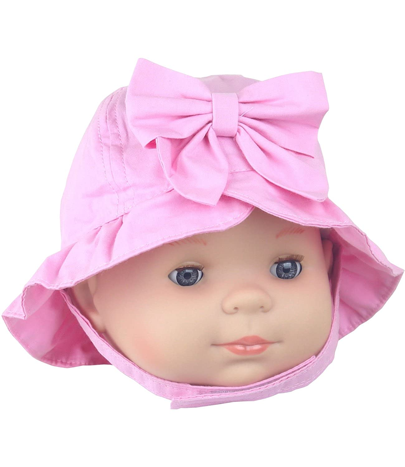 BabyPrem Baby Girls Bow Sun Hat