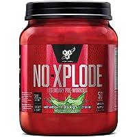BSN Nutrition N.O.-Xplode, Suplementos Deportivos Pre Workout en Polvo con Creatina Monohidrato, Cafeina, Beta Alanina…