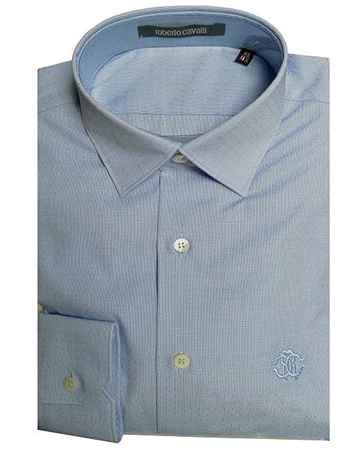 best cheap 46139 bde71 Roberto Cavalli Uomo - Camicia Slim Fit - FSR700FK011 ...