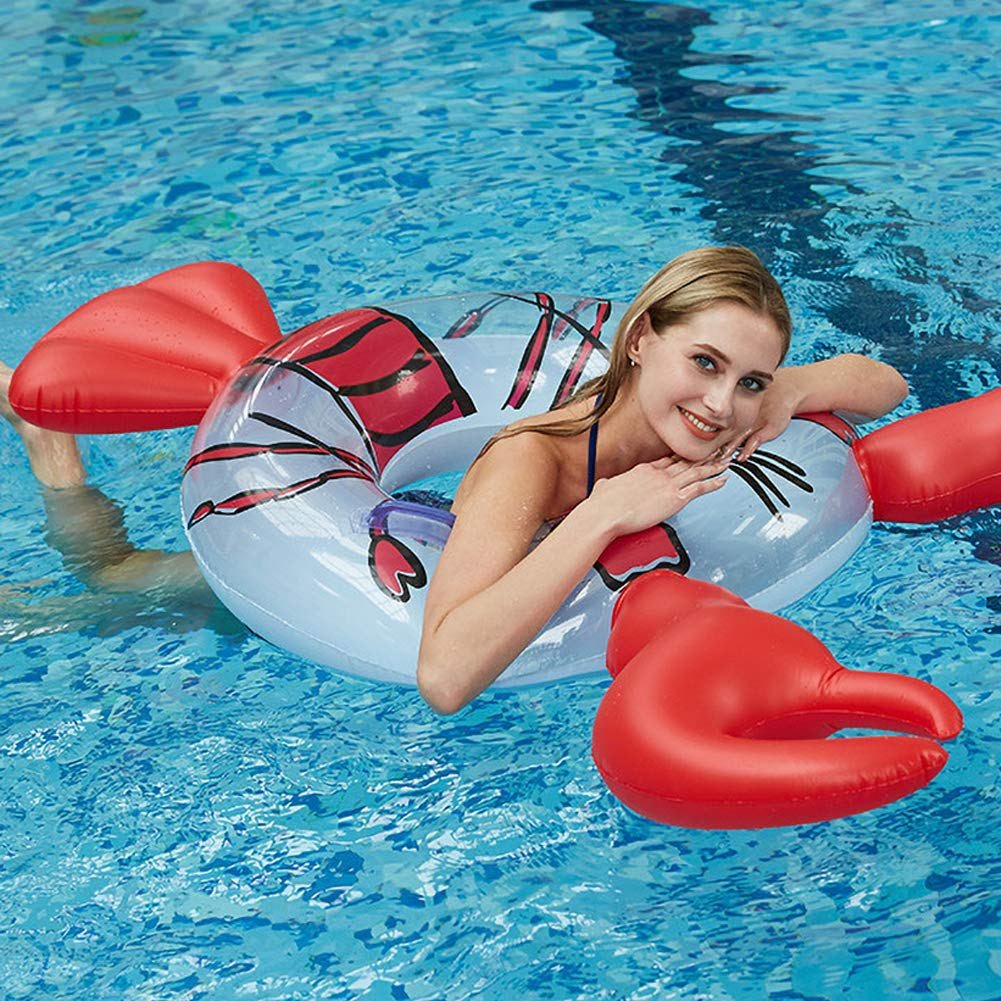 JUST N1 Inflatable Float Row Ins Lobster Animal Floating Hammock Water Air Bed Swimming Pool Lounge for Adult Children Seaside Water Entertainment by JUST N1 (Image #6)