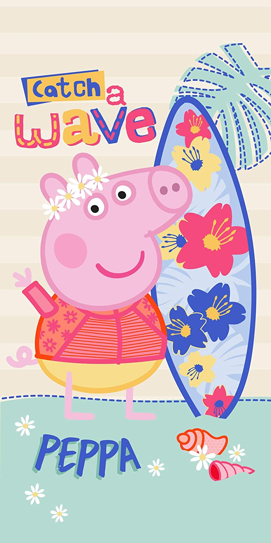 Toalla Peppa Pig Fun Microfibra Piscina Playa Ba/ño 70x140cm Infantil