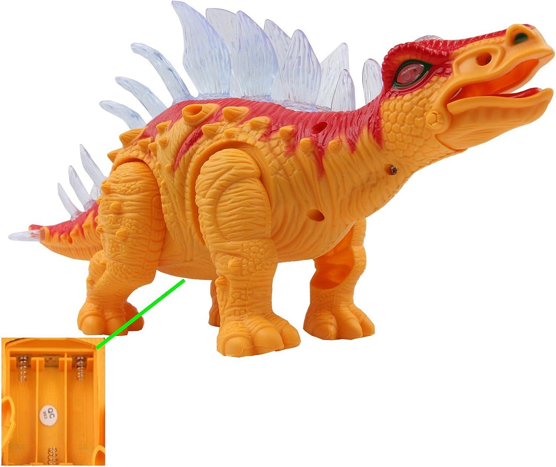Yier/® Elektronisches Spielzeug Gr/ün Gehen Brachiosaurus Dinosaurier