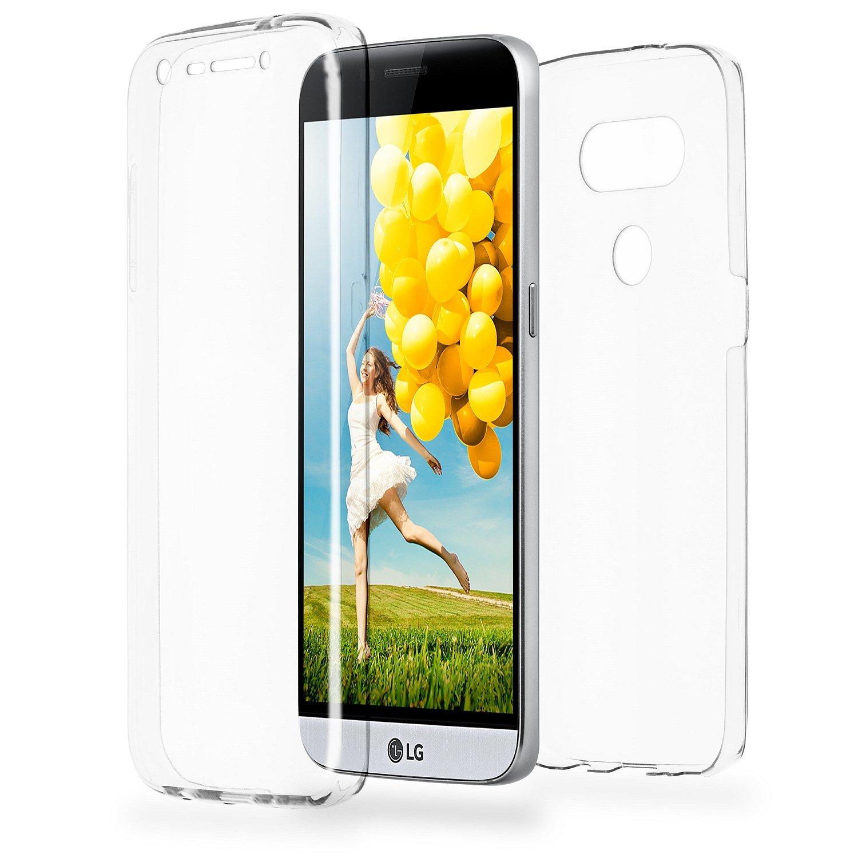 MoEx Funda Protectora 360º de Silicona Compatible con LG G5 ...