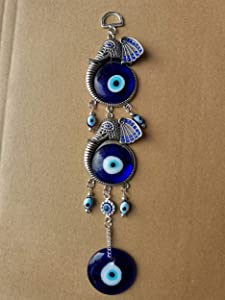 Blue Evil Eye Hanging Wall Decor Decoration Amulet Lucky Home Car Pendant