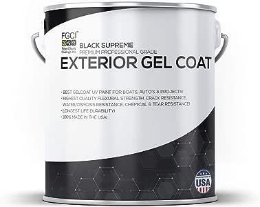 Amazon.com : Black Supreme Boat Paint, Exterior Gel Coat