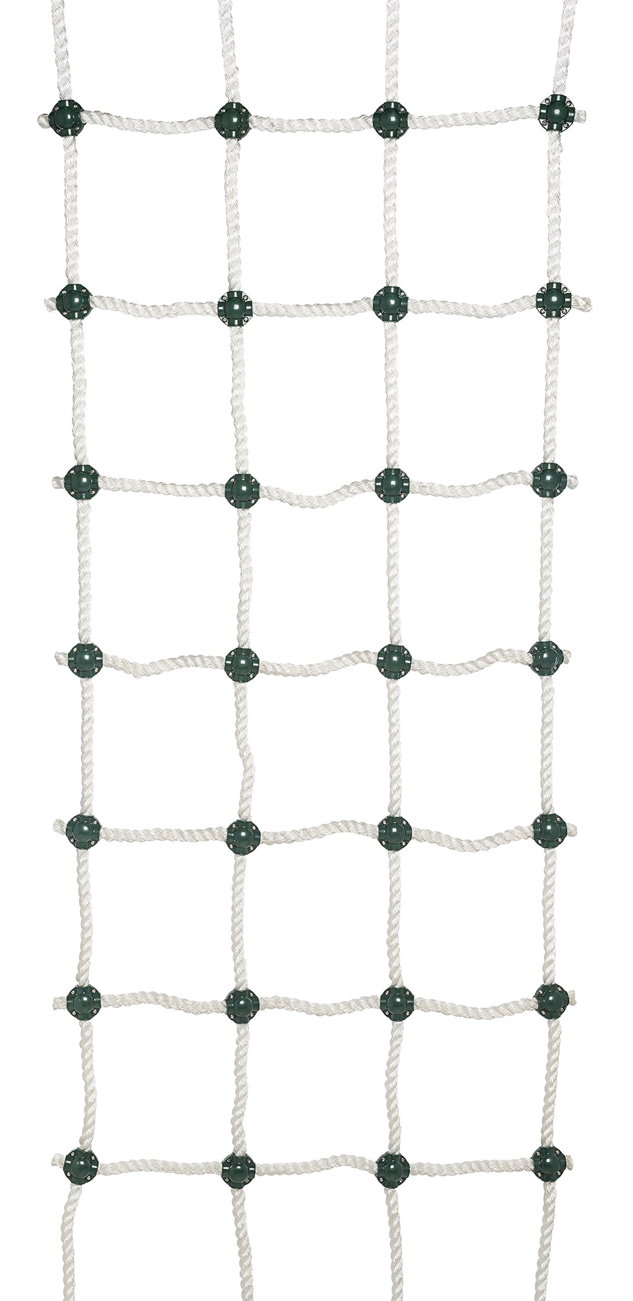 Safe-Kidz™ Cargo Climbing Net, 100% Polyester Rope Ladder, 96'' L x 30'' W + Drill Bit & Instructions by Safe-Kidz™
