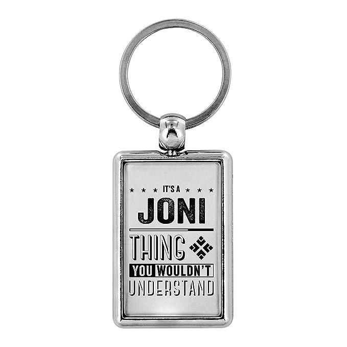 Amazon.com: Llaveros para hombres – Es un Joni Thing You ...