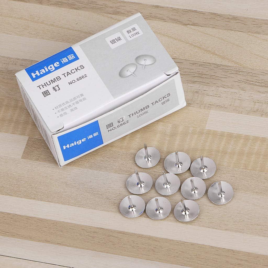 YFairy Thumb Tack Confezione da 80 puntine in Metallo per Ufficio