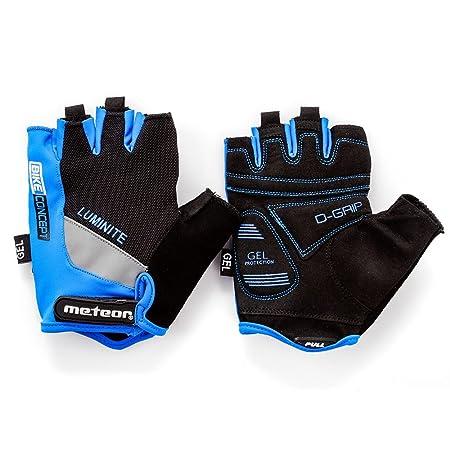meteor radhandschuhe MTB Handschuhe Herren Gel GX30 Blue fahrradhandschuhe Mountainbike Handschuhe Radsport Handschuhe Damen