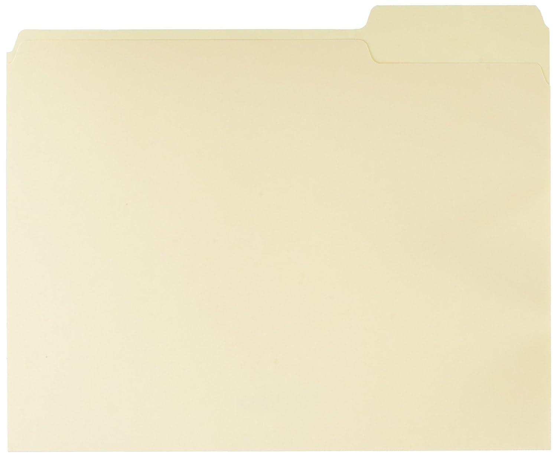 AmazonBasics File Folders - Letter Size (100 Pack) – Manila