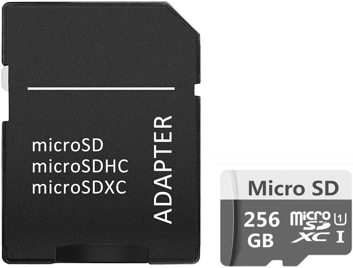 Micro SDXC UHS-I Card High Speed Memory Card Gentai Micro SD Card 128GB//256GB//400GB//512GB//1024GB 256GB-B