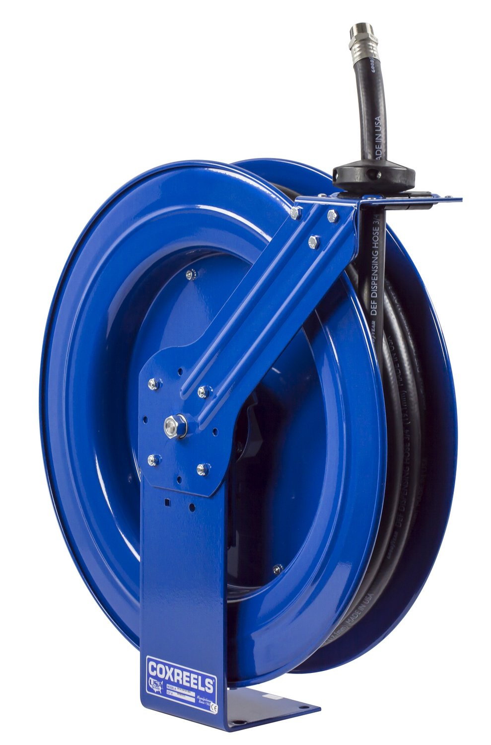 Coxreels SH-N-550-DF-BBX Spring Rewind Hose Reel for DEF applications: 3/4'' I.D., 50' hose, 300 PSI