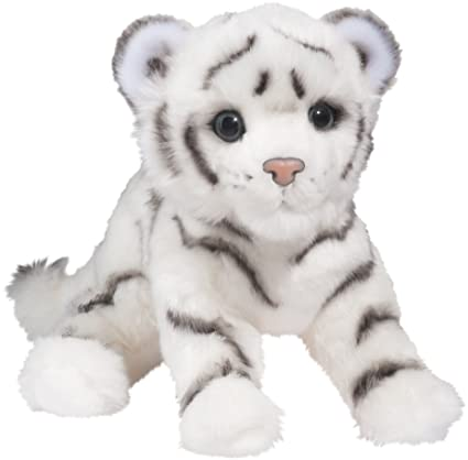 Amazon.com: Douglas Silky White Tiger Cub: Toys & Games