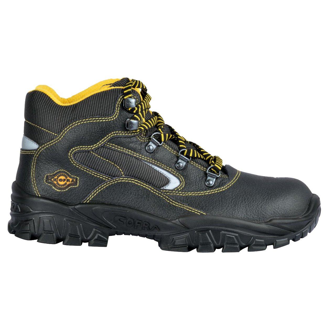 Cofra NEW Eufrate S3/SRC par de zapatos de seguridad talla 36/NEGRO