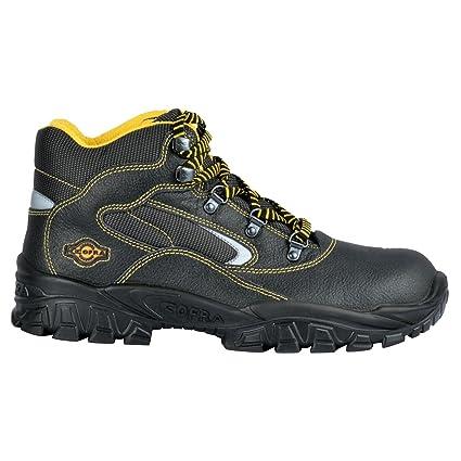 Cofra NEW Eufrate S3 SRC par de zapatos de seguridad talla 37 NEGRO