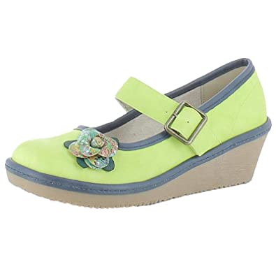 Heavenly Feet Carrie Colour: Lime, Size: EU36