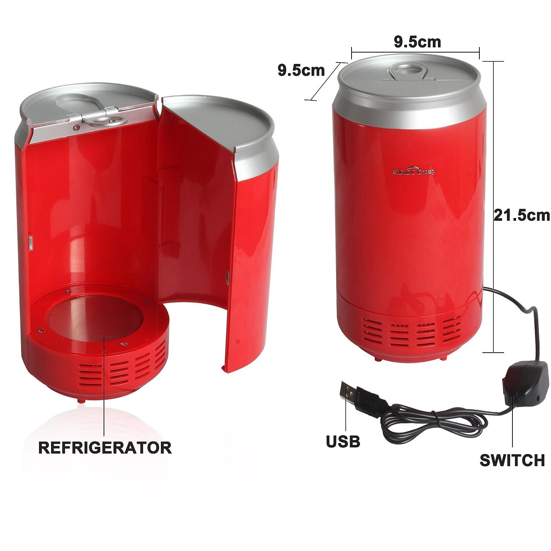 Sidiou Group USB PC portátil Mini refrigerador del refrigerador ...