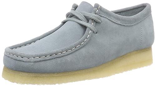 Clarks Wallabee, Zapatos de Cordones Derby para Mujer: Amazon.es: Zapatos y complementos