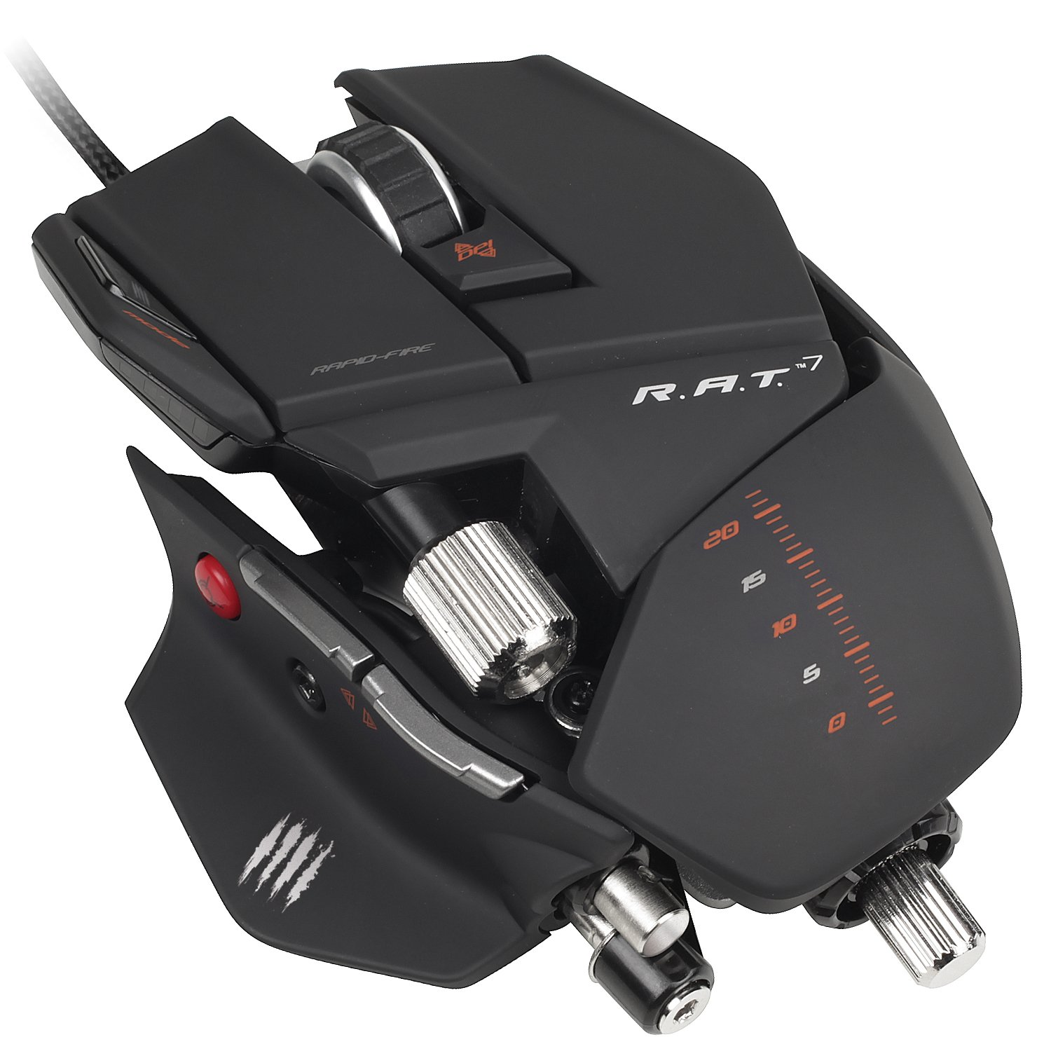 Mad Catz R.A.T.7 Gaming Mouse for PC and Mac by Mad Catz