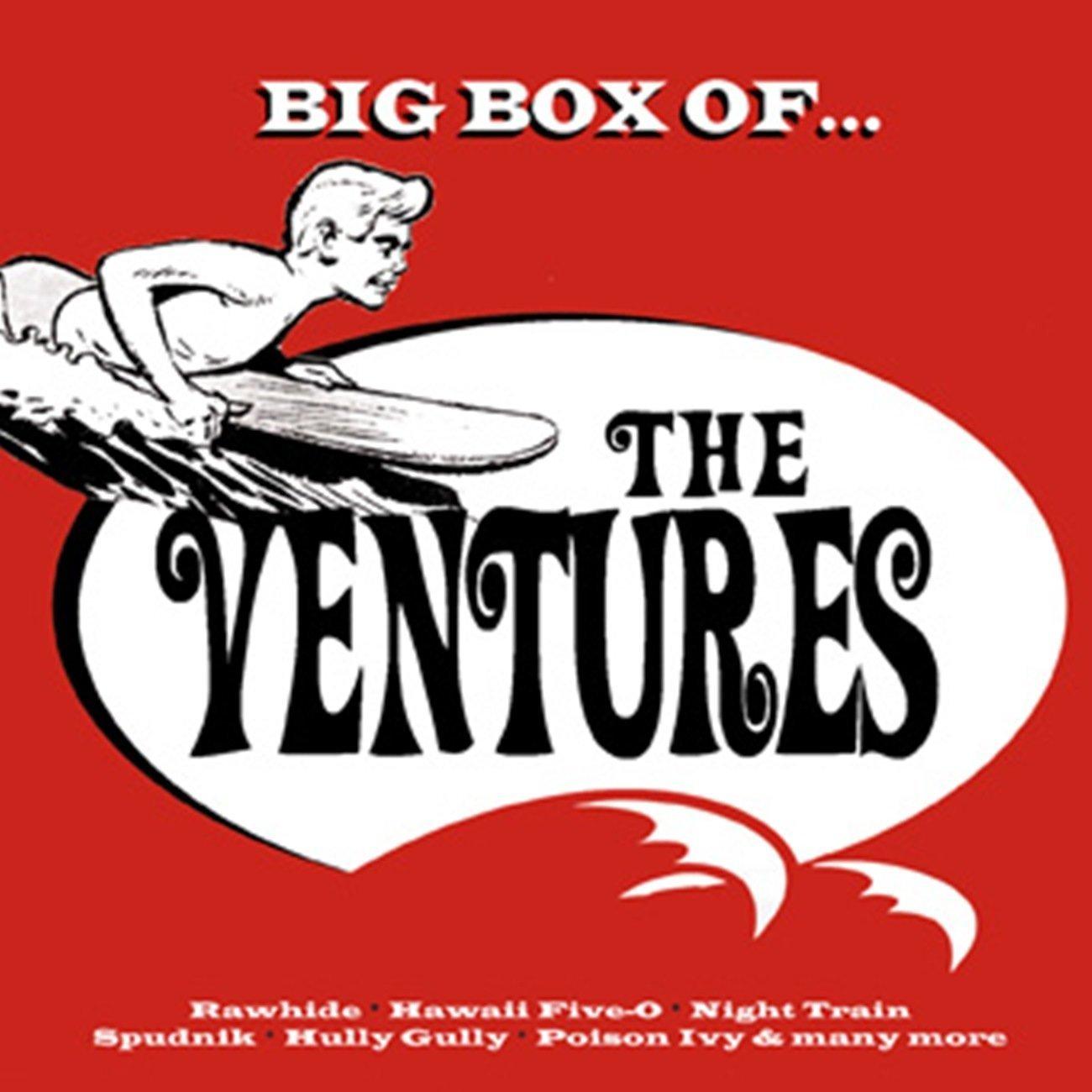 The Ventures - Big Box of The Ventures [6CD Box Set] (2013) [CD FLAC] Download
