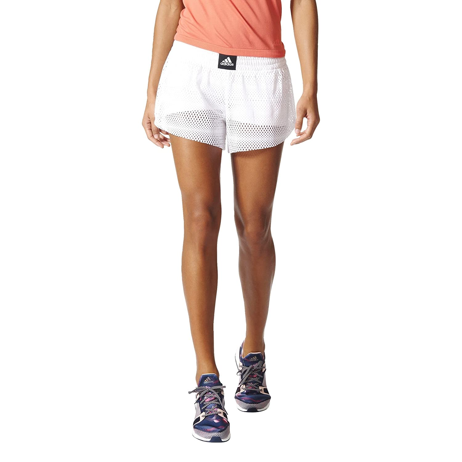 Adidas Women's Two-in-One Mesh Shorts