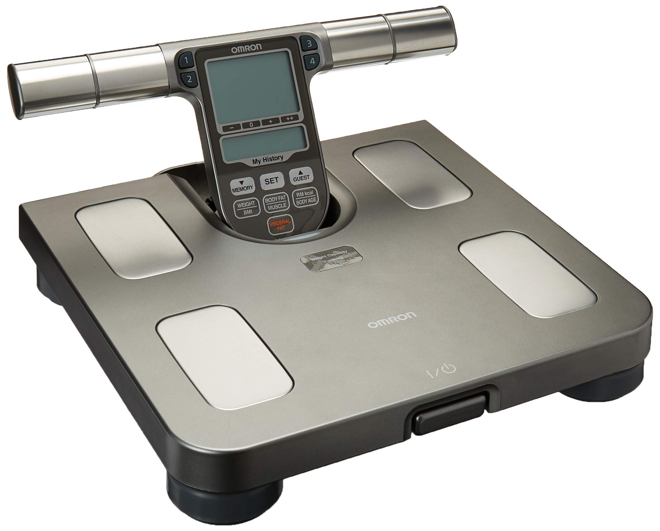 Omron HBF-514C Body Composition Monitor And Scale With Seven Fitness Indicators by Omron (Image #2)