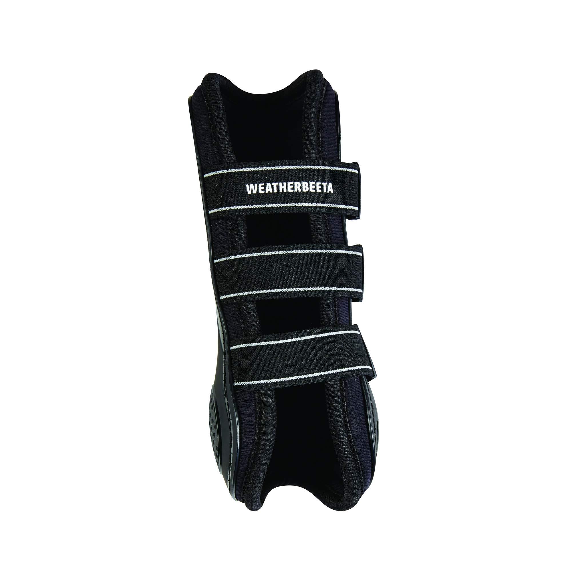 Weatherbeeta Pro Air Open Front Boots (Cob) (Black)