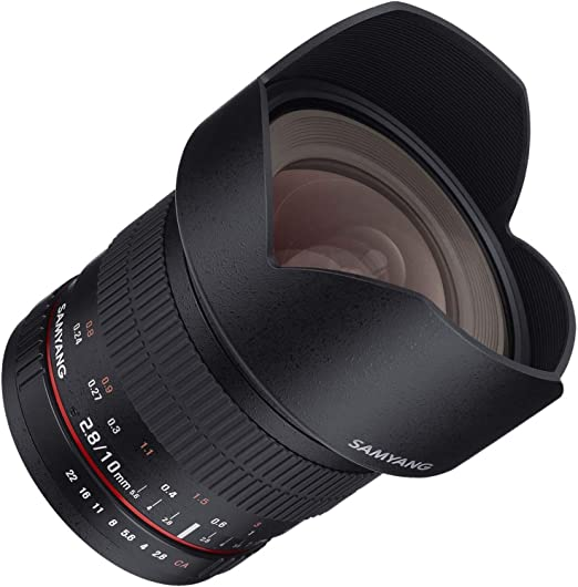 Samyang 10 2 8 Objektiv Dslr Nikon F Ae Manueller Fokus Kamera