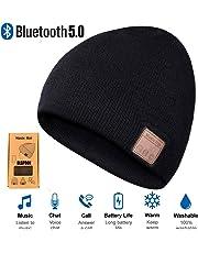 RLGPBON Cappello Bluetooth Beanie Music Hat Inverno Berretto Lavorato a Maglia Berretto per Corsa Sport all'Aria Aperta Sci Campeggio Escursionismo Giorno del Ringraziamento Regali di Natale