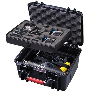 Smatree SmaCase GA700 – 3 flotador/water-resist duro caso para GoPro Hero 6