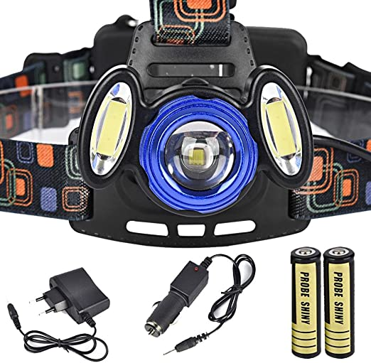15000Lm 3x XML T6 LED Rechargeable Headlight Headlamp 18650 Head Torch Lamp US