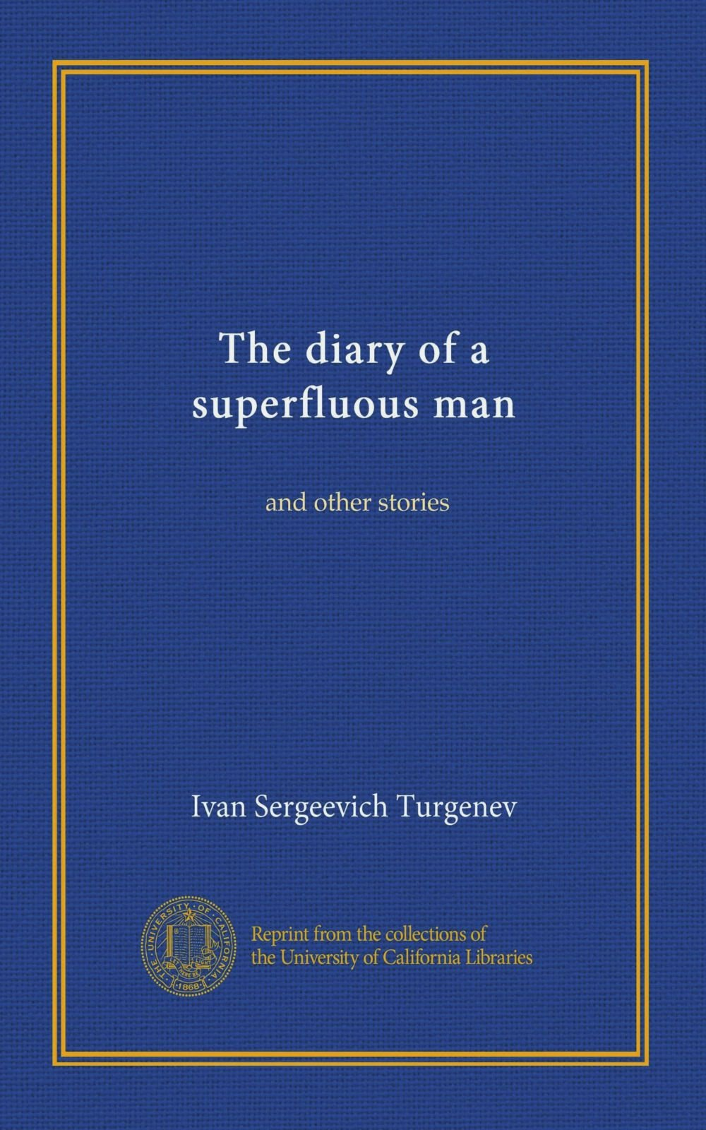 Download The diary of a superfluous man (Vol-1): and other stories pdf